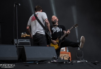 Alexisonfire - Photo by Marc