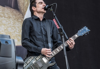 Anti Flag - Photo by Marc