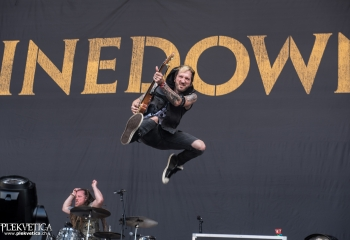 Shinedown -  Photo by Marc