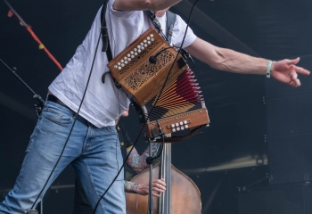Skinny Lister - Photo By Marc