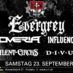 Evergrey _ Noveria _ Influence X _ Silent Circus _ Divus