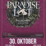Paradise Lost _ Pallbearer _ Sinistro