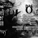 LIVE: Mekonium, Versus und Days of Ruin