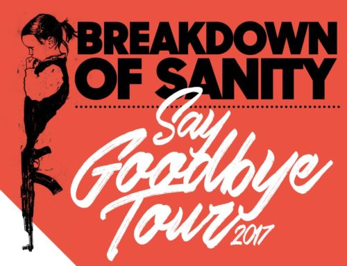 Breakdown of Sanity – Say Goodbye Tour 29.12.2017