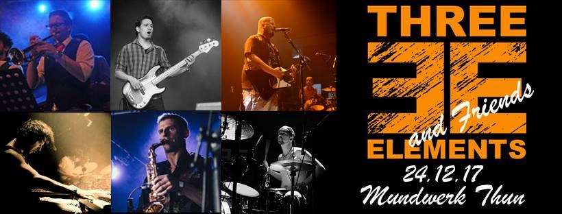Three Elements and Friends live im Mundwerk! – 24.12.2017
