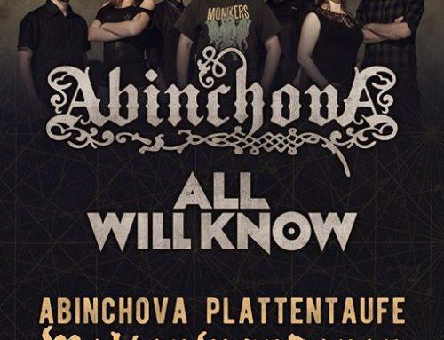 "ABINCHOVA Album Release Party ""Weltenwanderer"" – 30.03.2018"