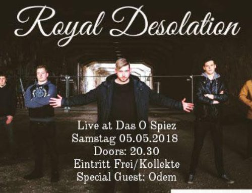 Royal Desolation & Odem  05.05.2018