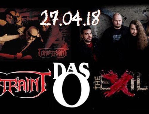 Constraint & The Exiled – 27.04.2018